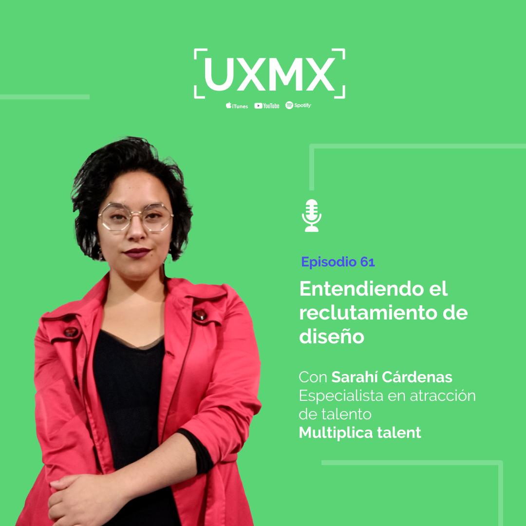 Sarahí Cárdenas, Especialista en atracción de talento en Multiplica Talent  Entendiendo el reclutamiento de diseño